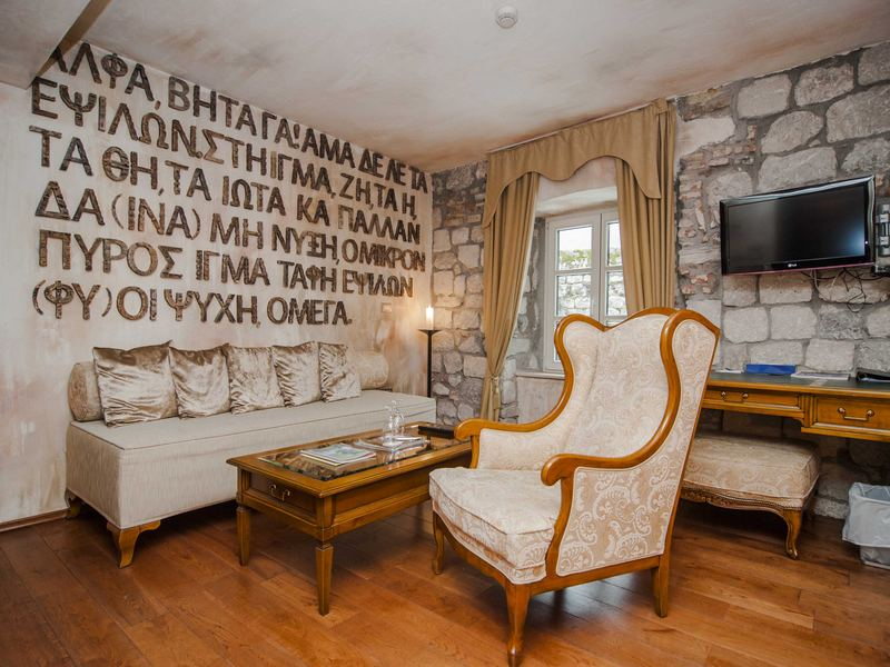 Luxury boutique hotel astoria kotor altstadt montenegro for Boutique hotel kotor
